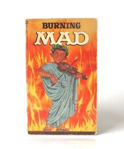 Imágen 1 del libro: BURNING MAD - Usado
