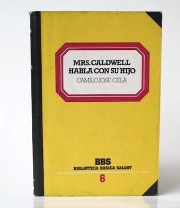 Cela_Camilo_José___Mrs. Caldwell_habla_Con_su_hijo____1982____Libros_Antimateria