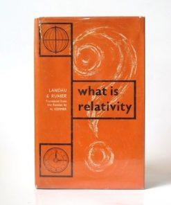 Imágen 1 del libro: What is Relativity - Usado