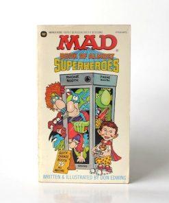 Imágen 1 del libro: MAD BOOK OF ALMOST SUPERHEROES - Usados