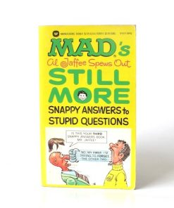 Imágen 1 del libro: MAD'S AL JAFFEE SPEWS OUT STILL MORE SNAPPY ANSWERS TO STUPID QUESTIONS - (Idioma: Inglés) - Usado
