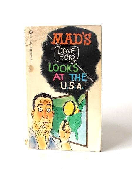 Imágen 1 del libro: MAD'S DAVE BERG LOOKS AT THE USA - Usado