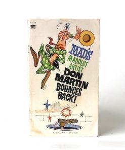 Imágen 1 del libro: MAD'S MADDEST ARTIST DON MARTIN BOUNCES BACK - Usado