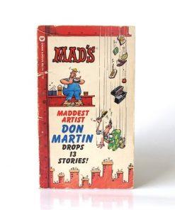 Imágen 1 del libro: MAD'S MADDEST ARTIST DON MARTIN DROPS 13 STORIES - Usado