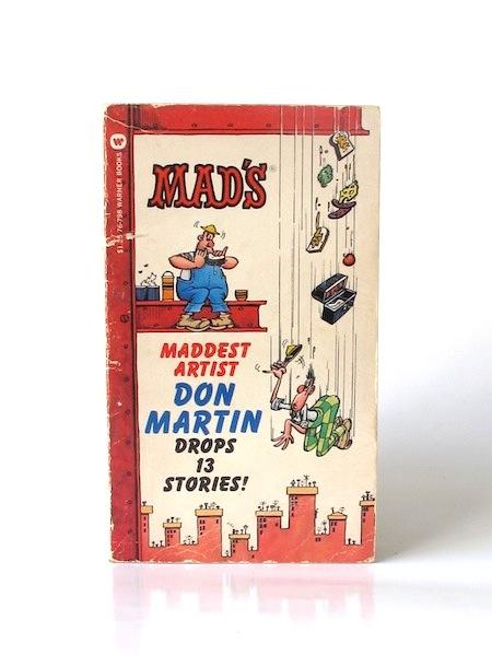 Mads_maddest_artist_Don_Martin_drops_13_stories___Warner___1973___Libros_antimateria