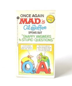 Imágen 1 del libro: ONCE AGAIN MAD'S AL JAFFEE SPEWS OUT MORE SNAPPY ANSWERS TO STUPID QUESTIONS - (Idioma: Inglés) - Usado