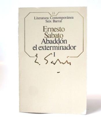 Sabato_Ernesto___Abbadon_el_Exterminador___Seix_Barral___1985___Libros___Antimateria_1