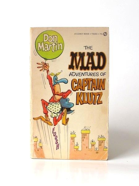 The_Mad_adventures_of_captain_Klutz___Signet___1967___Libros_antimateria