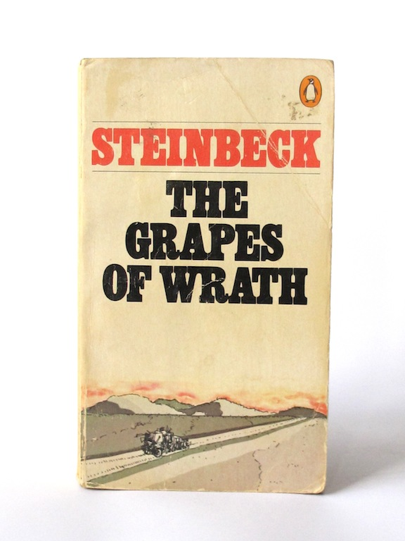 a plot review of john steinbecks novel the grapes of wrath Shortly after emigrating to america in 1939 with the poet w h auden, christopher isherwood, the british author of berlin stories, wrote a review of the grapes of wrath for kenyon review, the new american literary magazine that—like john steinbeck—quickly gained prestige and influence with readers and critics in the united states.