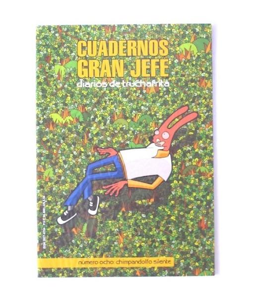 Robot___Cuadernos_Gran_Jefe_diarios_de_truchafrita_n+›mero_ocho___Chimpandolfo_silente___Libros___Antimateria_1