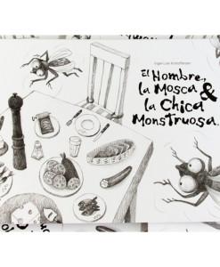 Cain-Press___El-Hombre,-la-Mosca-y-la-Chica-Monstruosa____Libros___Antimateria_1