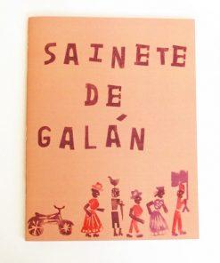 Imágen 1 del libro: Sainete de Galán
