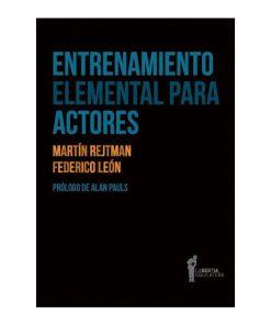 Imágen 1 del libro: Entrenamiento elemental para actores