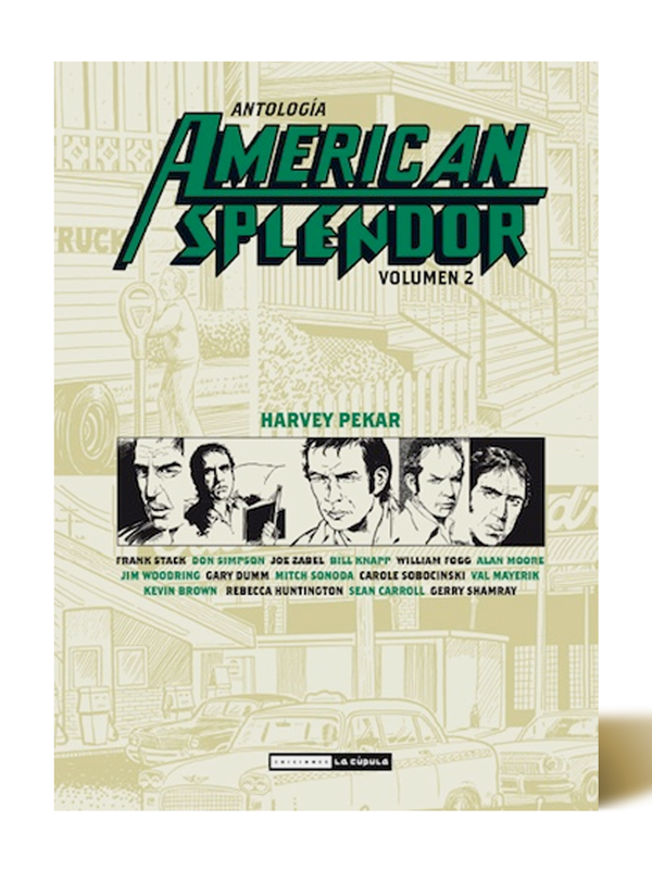 American Splendor Vol. 2 - Harvey Pekar - Libros Antimateria