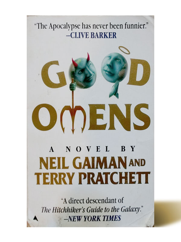 Good Omens - Neil Gaiman, Terry Pratchett - Libros Antimateria