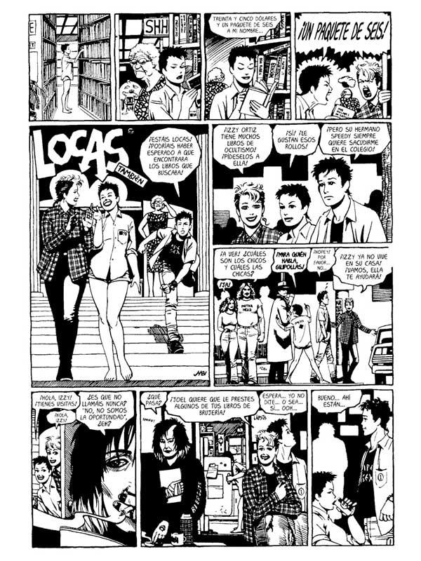 Locas - Jaime Hernández - Libros Antimateria