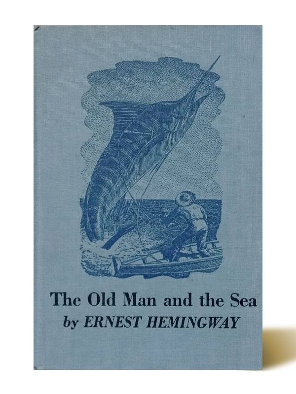 The Oldman and the Sea - Ernest Hemingway - Libros Antimateria