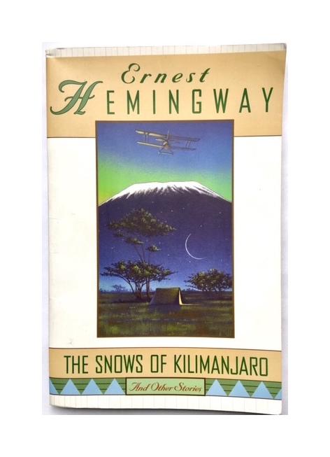 ernesthemingway-snows-of-kilimanjaro