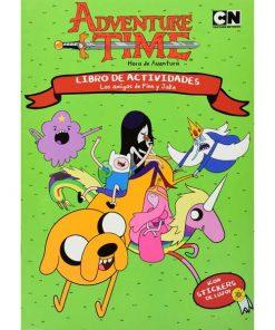 Imágen 1 del libro: Hora de Aventura, los amigos de Finn y Jake