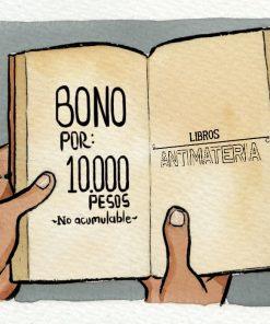 Imágen 1 del libro: Bono Libros Antimateria - 10.000 COP$