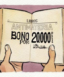 Imágen 1 del libro: Bono Libros Antimateria - 20.000 COP$