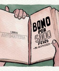 Imágen 1 del libro: Bono Libros Antimateria - 5.000 COP$