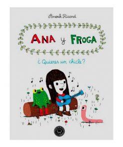 Ana y Froga vol 1- Libros Antimateria