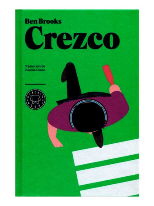 Crezco, Ben Brooks - libros antimateria