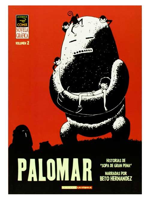Palomar 2 - Beto Hernández - Libros Antimateria03