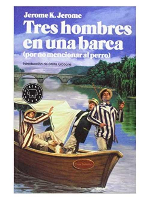 Tres hombres en una barca-Libros Antimateria