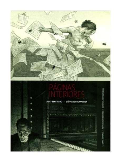 Páginas interiores, Rey Naranjo, Novela gráfica