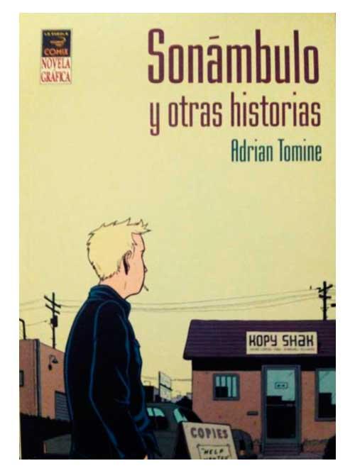 sonambulo - Adrian Tomine - Libros Antimateria