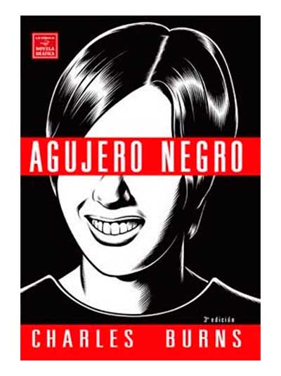 Agujero Negro - Charles Burns - Libros Antimateria