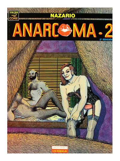 Anarcoma 2 - Nazario Luque - Libros Antimateria