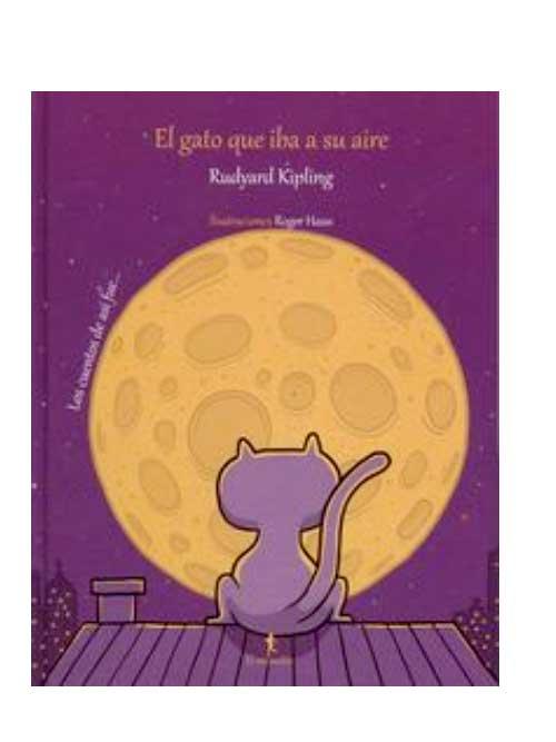 El gato que iba a su aire - Rudyard Kipling - Libros Antimateria