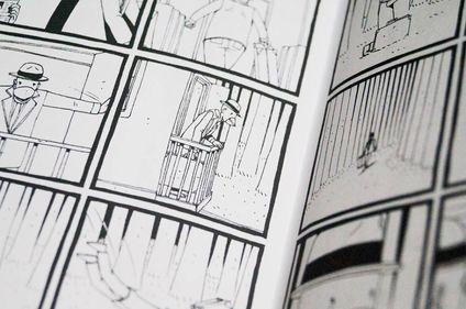 Pedro Mancini, Revista Larva, Cómics, Gusana, Misterio de Krang