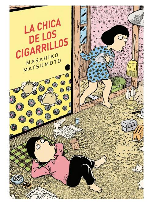 La chica de los cigarrillos - Masahiko Matsumoto - Libros Antimateria