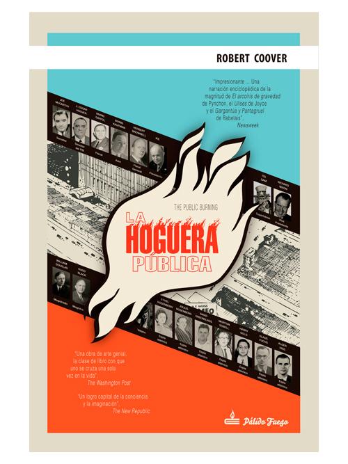 La hoguera pública - Robert Coover - Libros Antimateria
