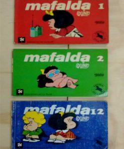 Imágen 1 del libro: Mafalda Tomo 1-12
