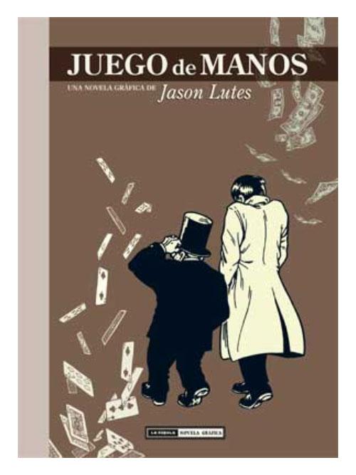 Juego de manos - Jason Lutes - Libros Antimateria