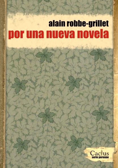 Por una nueva novela - Libros Antimateria
