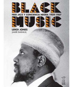 black music - leroy jones -libros antimateria