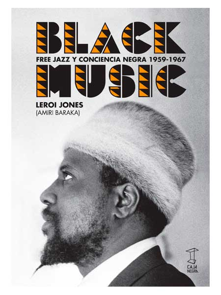 black music - leroy jones -libros antimateria