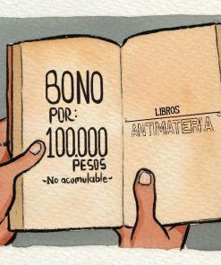 Bonos de regalo, Libros, Librería, Medellín, Libros Antimateria