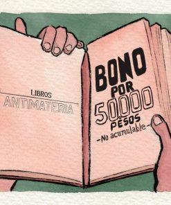 Bono de regalo, Libros Antimateria