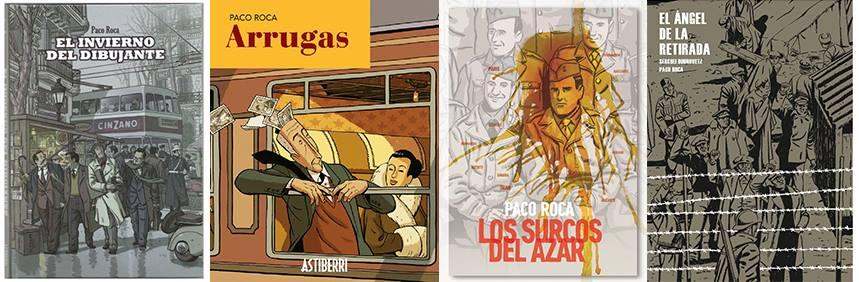 paco roca, historieta, cómic, charlas, tertulias, librería, medellín