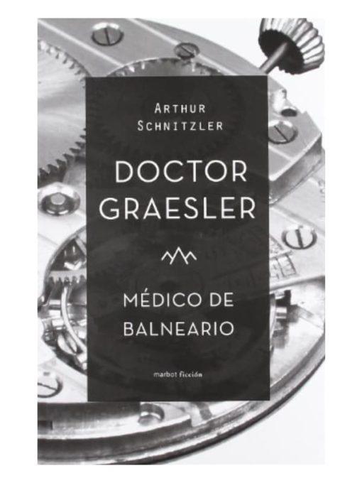 Imágen 1 del libro: Doctor Graesler