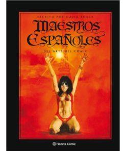 Imágen 1 del libro: Maestros españoles del arte del cómic